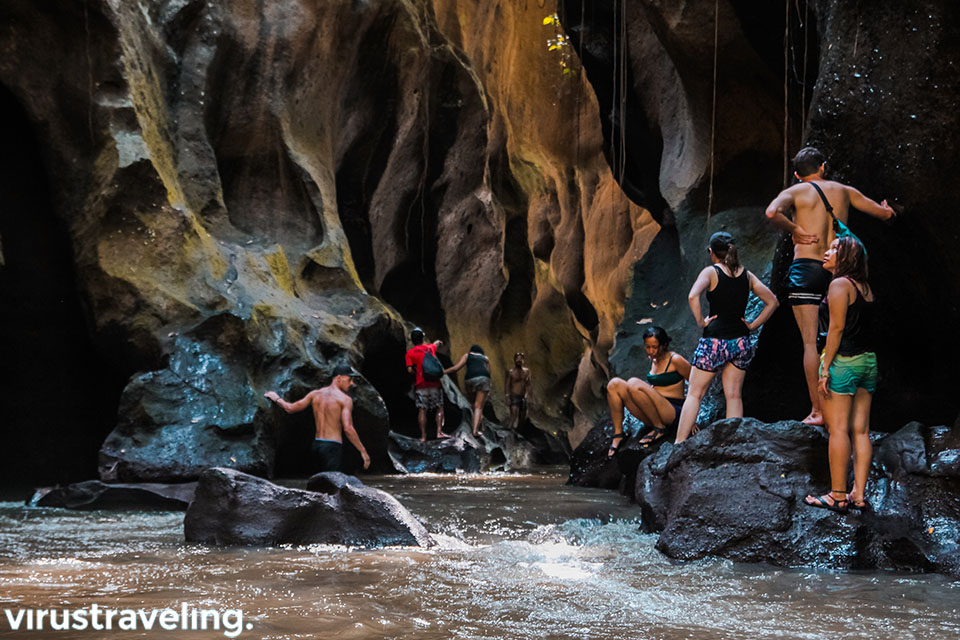 tempat wisata bali hidden canyon