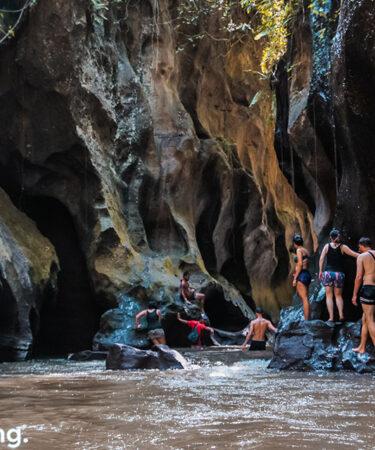 trekking hidden canyon beji guwang bali