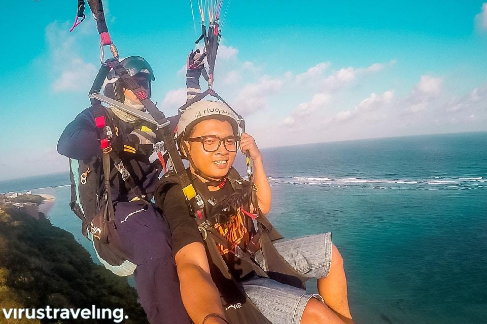 bali riug paragliding virustraveling