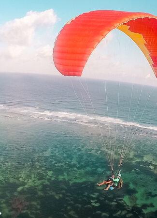 riug paragliding bali virustraveling