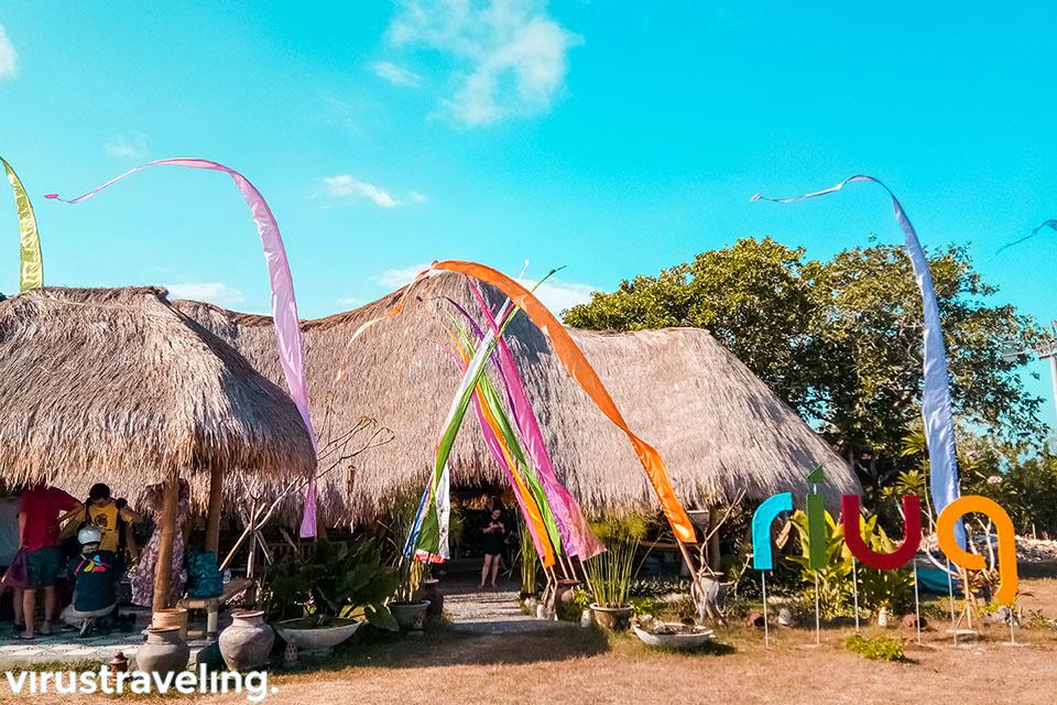 suasana di Riug Paragliding Bali