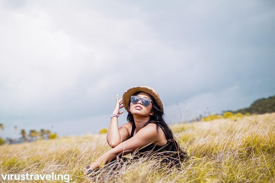 Satya Winnie di Pulau Ular