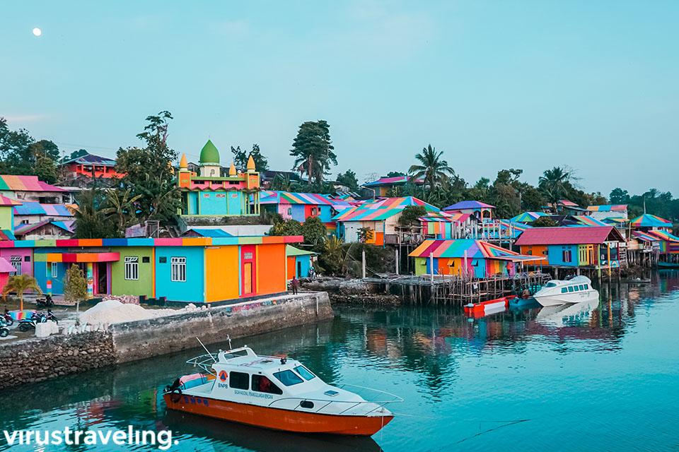 kampung pelangi tual pulau kei