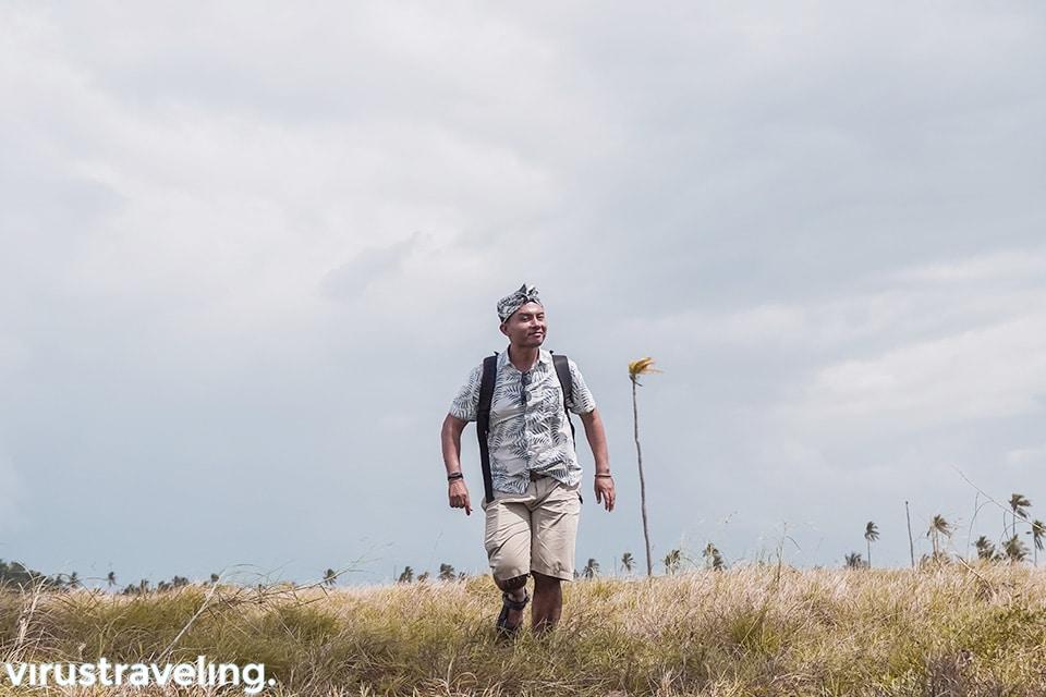 Lostpacker di Pulau ular Bau Bau