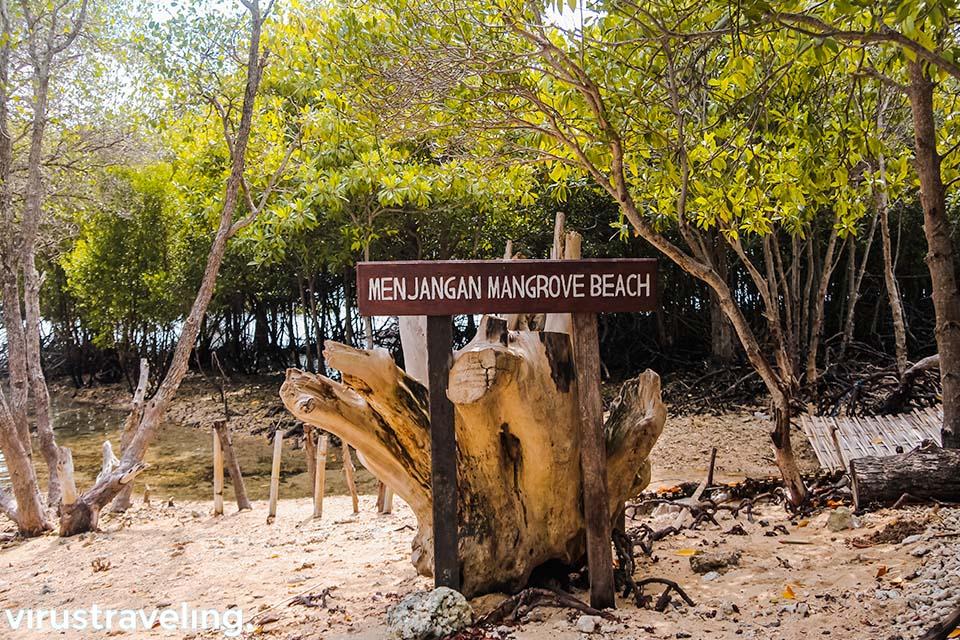 Menjangan Mangrove Beach