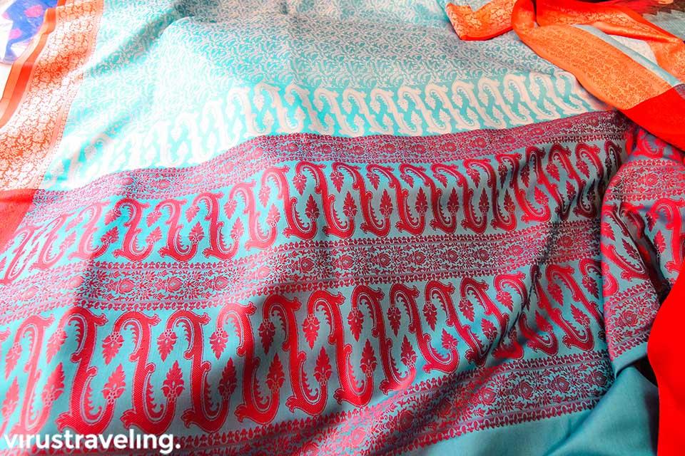 Kain Sari India yang kami beli