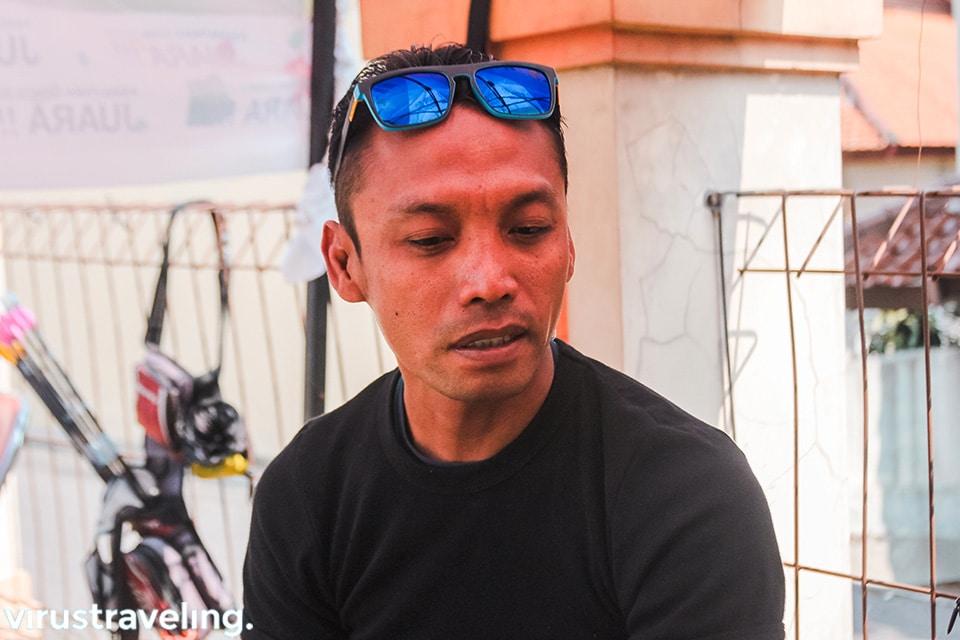 Mas Agus Budiraharjo pelatih panahan para games