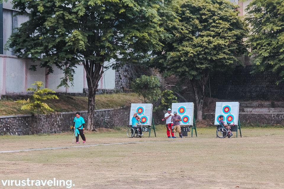 cabang olahraga panahan Para Games Indonesia