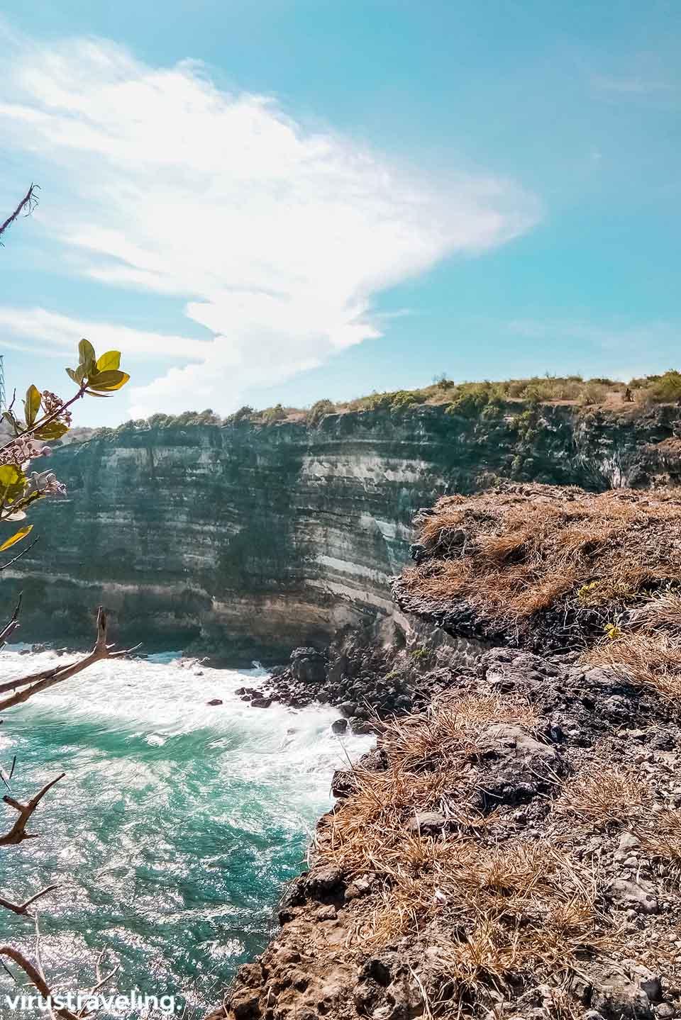 Pemandangan Tanjung Ringgit di Lombok
