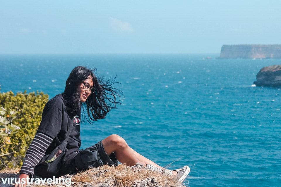 Santai di tebing Tanjung Ringgit