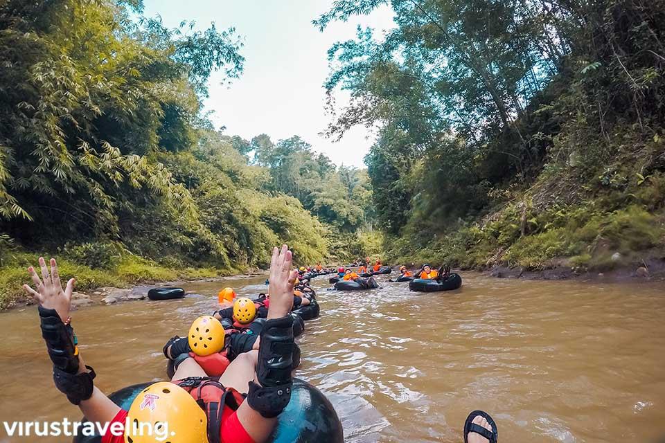 River Tubing Kali Kreo Desa Kandri