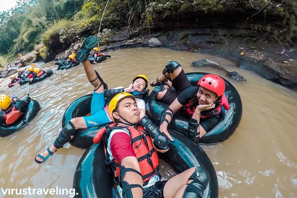River Tubing Kali Kreo di Semarang