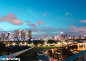 Marina Barrage Singapura