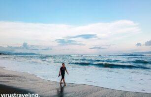 Pantai Saba virustraveling