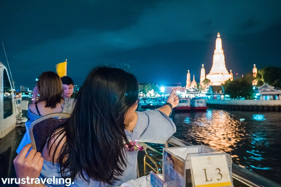 Bangkok Cruise Dinner Traveloka Xperience