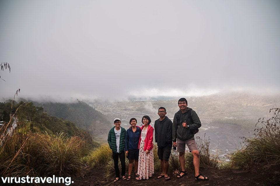 Jalan jalan ke Desa Pinggan Kintamani