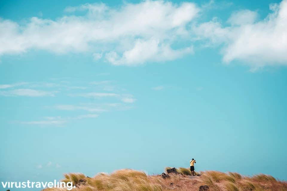 Langit cerah wisata di Tulamben