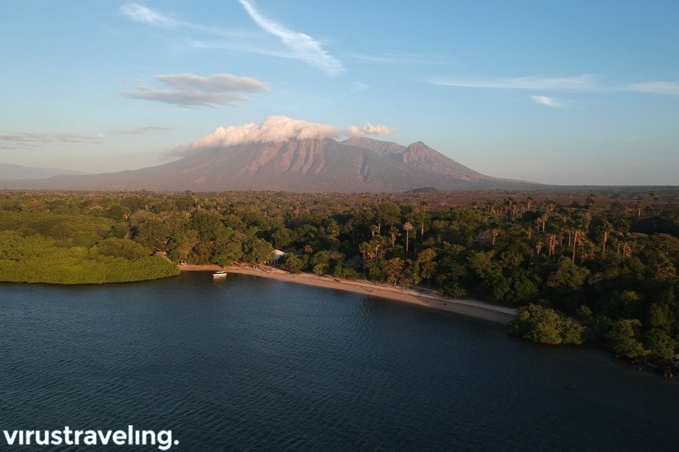 Drone Pantai Bama Taman Nasional Baluran