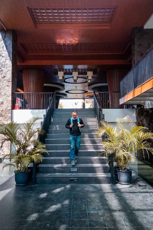 Lobby Hotel Santika Banyuwangi