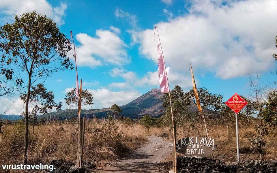 Pos Black Lava Mount Batur