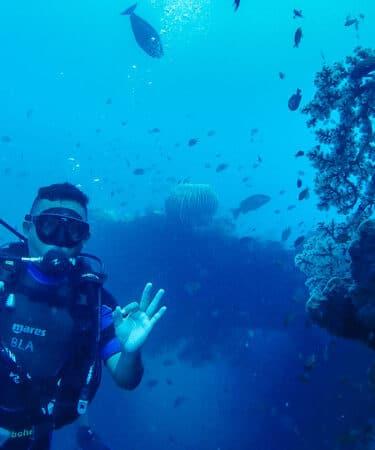 Diving di Tulamben