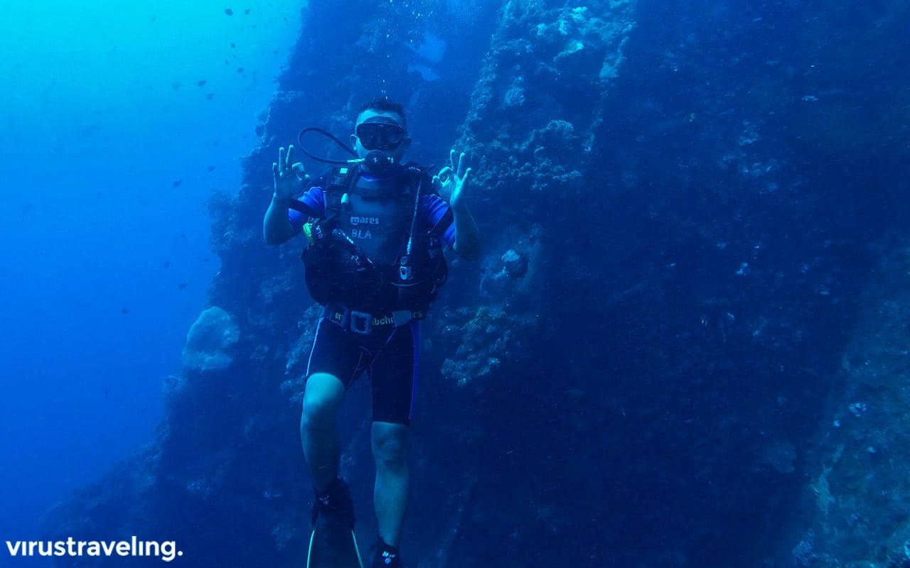 Serunya scuba diving di Tulamben