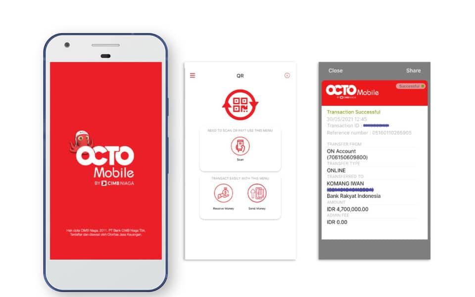 Transfer antar Bank pakai OCTO Mobile CIMB Niaga